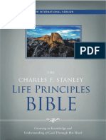 The Charles F. Stanley Life Principles Bible, NIV