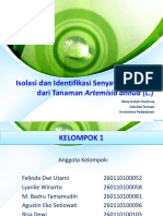 isolasi dan identifikasi senyawa kumarin