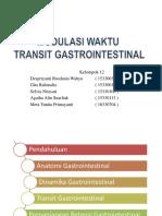 Modulasi Waktu Transit Gastro Ppt1