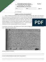 avaliação português