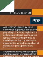 Stress o Tensyon