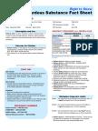 Sulfuric Acid Safety Sheet