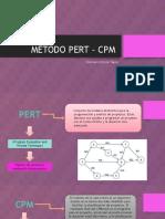 Método Pert – Cpm- Xiomara