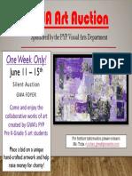 2017 art auction announcement copy