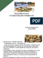 trasabilitatea nutreturilor combinate
