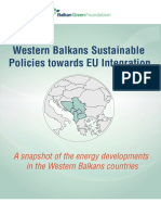 Western Balkans Sustainable Policies Towards EU Integration