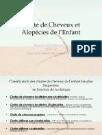 Pathologie Cheveux de Lenfant Réunion ASFODER Dr GUICHARD Pharmacien Besançon 25 France