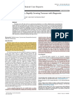 Cystosarcoma Phyllodes Rapidly Growing Tumours With Diagnosticchallenges