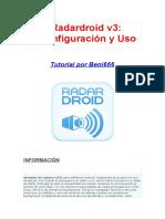 Radardroid v3 - Manual