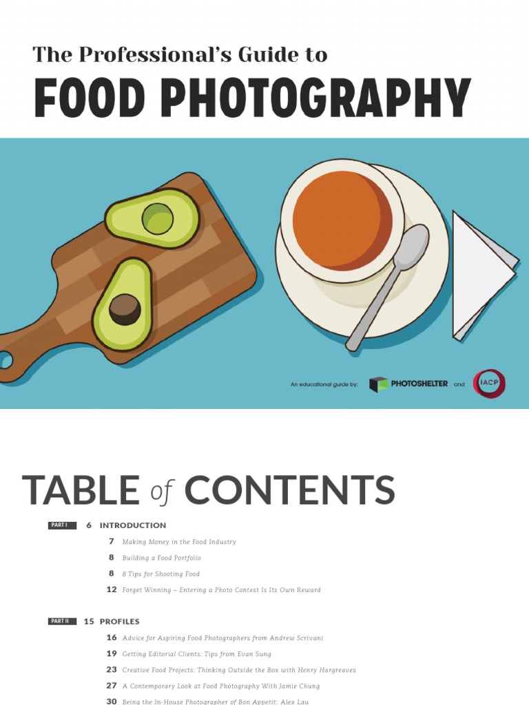 Pdf on photographer being a