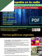 Jardin de La Salud Programa Preparados Herbolarios Plantas Prohibidas 12 05 2017