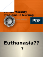 2 Ethical Morality Problems in Nursing