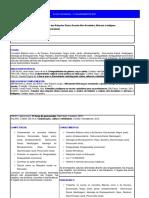 Plano de Aula - Estudo Das Relações Étnico-Raciais Afro-Brasileira, Africana e Indígena - EAD