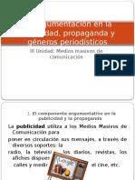 La Argumentación en La Publicidad, Propaganda y