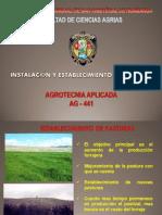 Establecimiento de Pastizales (Sem 4)