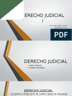 Derecho Judicial .1ro