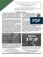 MBA Newsletter