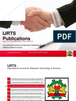 IJRTS Publications Intro