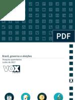 Cut/Vox Eleitoral – Junho