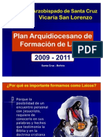 Plan de Formacion de Laicos VSL Power Point