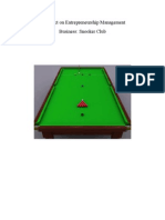 Snooker Project