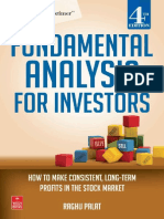 Fundamental analysis for investors