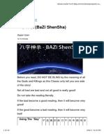 Bazi Shensha