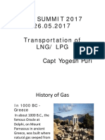 Transportation of LNG LPG Yogesh Puri