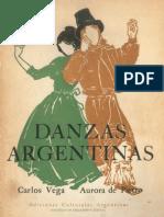 Vega, Carlos - Danzas Argentinas (Ilust. Aurora Pietro)