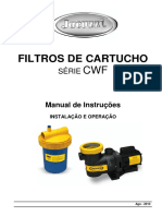 MANUAL DE INSTRUÇÕES  DO FILTRO SÉRIE CWF