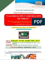 Guia de Valorización y Liquidación de Obras (1)