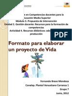 Webquest Formato Para Proyecto de Vida (1)