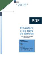 Medidores de Flujo de Fluidos Lab2 Informe
