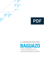 La Sentencia Del Caso Baguazo y Sus Aportes a La Justicia Intercultural