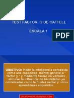 CALIFICACION CATTELL 1