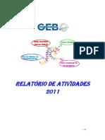 GEB Relatorio Atividades 2011
