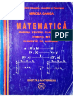 Clasa 12 Algebra Mircea Ganga