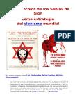 Los Protocolos de Los Sabios de Sión Como Estrategia Del Sionismo Mundial