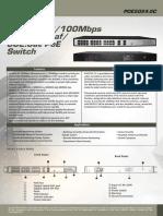 Belcosecurity POE5024-2C CCTV POE Switch