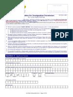 De Facto Partnership App Form