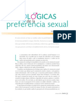 bases biológicas de la preferencia sexual