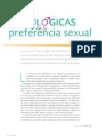bases biológicas de la preferencia sexual