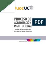 Resumen Proceso Acreditacion Institucional