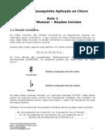Aula 01 - Teoria Musical - Noções Iniciais