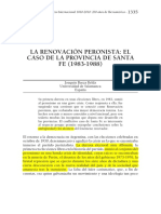Renovacion en Santa Fe- Baeza Belda