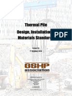 GSHPA Thermal Pile Standard