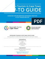 Responsible Tourism in Cape Town How to Guide