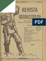 Revista Grănicerilor, 2, Nr. 18-19, Septembrie - Octombrie 1921
