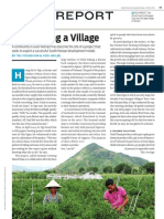(Korea; SSIR) Revitalizing a Village