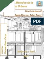 Metodos y Procesos de La Planificacion Urbana